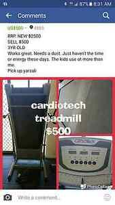 CARDIOTECH Treadmill Tarzali Tablelands Preview