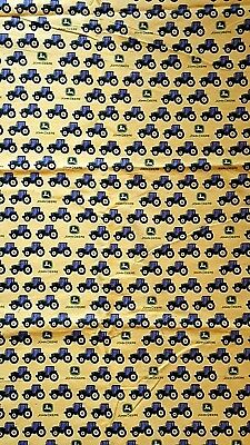 "23""x 36"" John Deere Flannel Fabric"