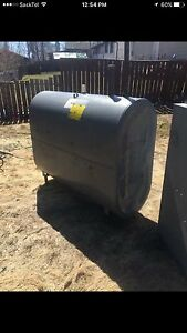 Used Oil Tank and Furnace