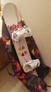 Snowboard / Boots / Bindings !! A whole set up.