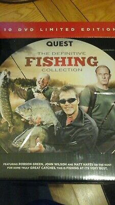 Quest The Definitive Fishing Collection, Robson Green, John Wilson and others