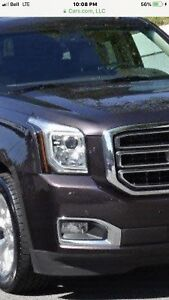 2015-2018 Yukon OEM Head light right side and front grille