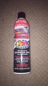 FW1 Cleaning Wax (never used) Marrickville Marrickville Area Preview