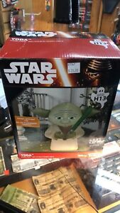 Star Wars inflatable yoda light up lawn ornament