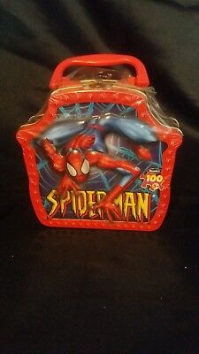 Marvel Spiderman Metal Mini Lunch Box 2003 #31670 New