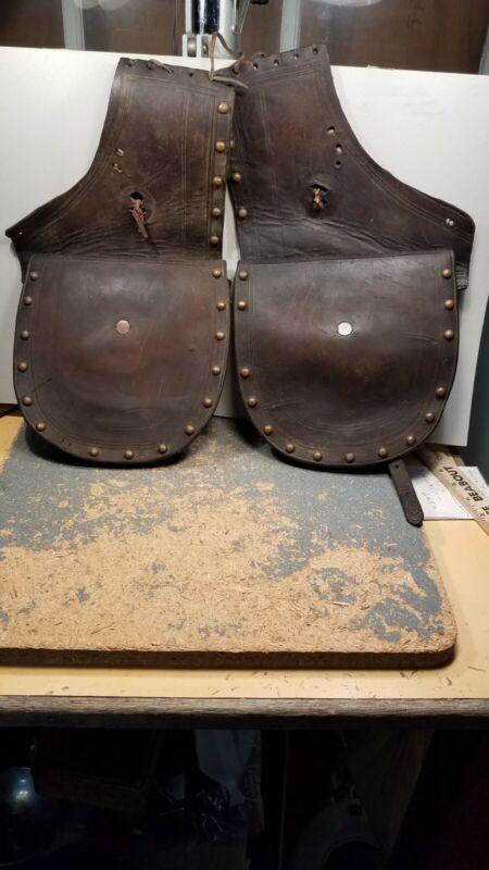 R.T. Frazier Antique Pueblo Set Saddle Bags Great Collectors Piece , Scarce