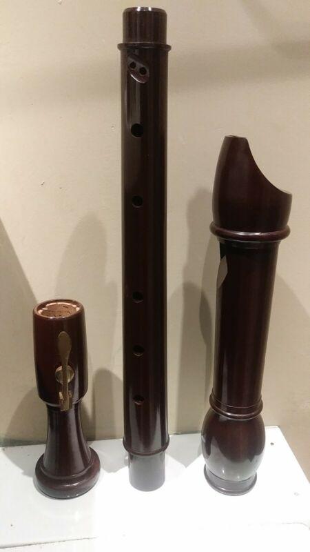Vintage Dolmetsch Dolonite  TENOR Recorder BS3499 Made in England