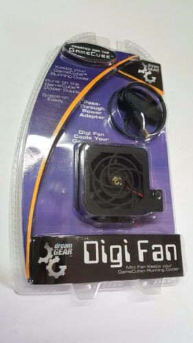 NEW Black  DreamGear Gamecube  Digi System  Cooling Fan