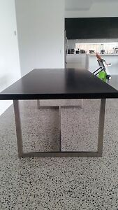 Large Dining Table with Stainless Steel Legs Bentleigh Glen Eira Area Preview