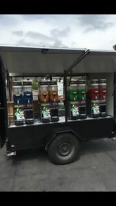 Slushie Trailer and machines for sale Sunbury Hume Area Preview