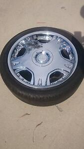 "18"" Dolce Chrome Rims and Tyres - may suit Mercedes, BMW, Audi Mundoolun Logan Area Preview"