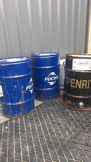 60ltr fuel drums x 3