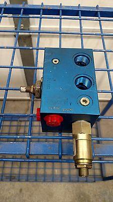 Parker Hydraulic Subplate Manifold Block 41345
