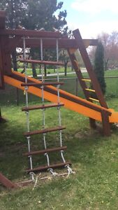 Outdoor play structure.