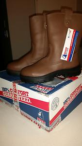 Mens steel blue work boots size 7 aust. Baldivis Rockingham Area Preview