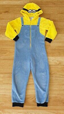 H&M MINIONS Jumpsuit Overall Gr. 122/128 Kostüm Junge