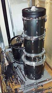 pearl drum kit - complete