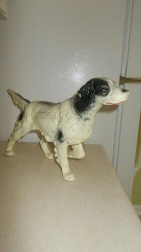 Vintage cast iton Spaniel hunting dog, doorstop