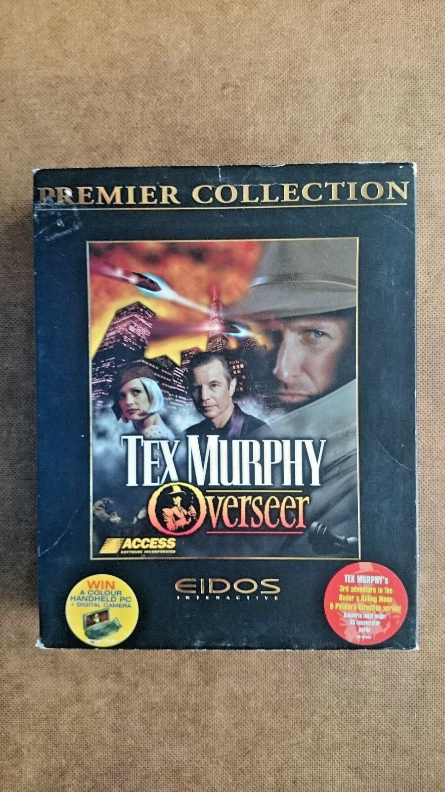 Tex Murphy : Verseer  (PC Windows 1998) - Big Box Edition