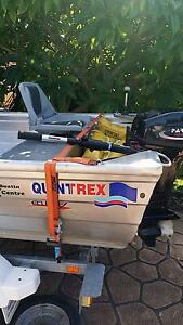 12ft Quintrex with 15 hp Parsun motor East Gosford Gosford Area Preview