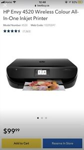 HP Envy 4522 All-in-one Printer+ two ink-catridges