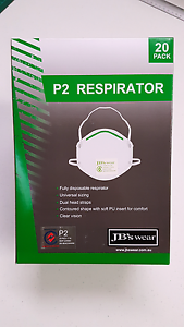 P2 Respirator 10 boxes of 20 masks = 200 masks Georges Hall Bankstown Area Preview