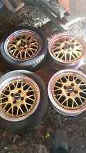 Set of 4 15x7 Simmons mag wheels Seaham Port Stephens Area Preview