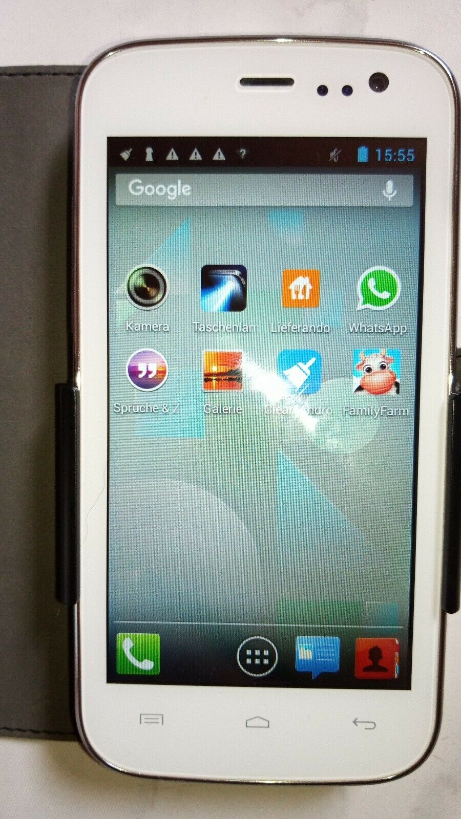 Mobistel Cynus F4 4,5 zoll Smartphone 2GB Touchscreen Dual-SIM Android in Weiß