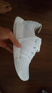 Adidas NMD R1 Triple White US 10.5 Burwood Whitehorse Area Preview
