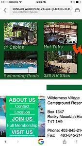 Wilderness Village camp ground RV resort