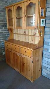 Pine Dining Room Cabinet hutch Merewether Newcastle Area Preview
