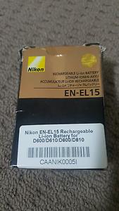 Nikon EN-EN15 rechargeable Li-ion  battery Parramatta Parramatta Area Preview