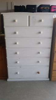 Tall boy 7 drawer