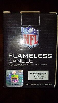 The Northwest Company NFL Tennessee  Titans Square Flameless Candle