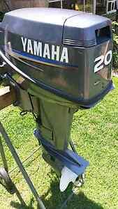 Yamaha 20hp short shaft motor Ormiston Redland Area Preview