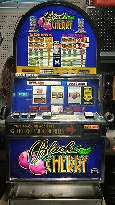 IGT Round Top Black Cherry Slot Machine