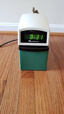 Etc Digital Automatic Time Clock With Stamp 01-6000-001