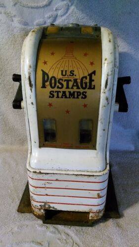 Northwestern U.S. Postage Stamps Vending Machine counter top Dime 3 & 4 cent