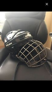 Skating/hockey helmet with cage