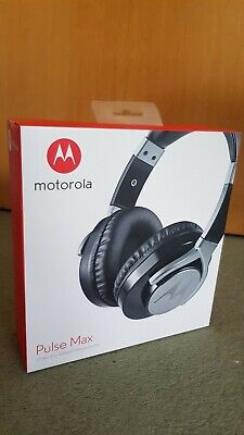 Motorola Pulse Max Over Ear Wired Headphones Original Box - brand new