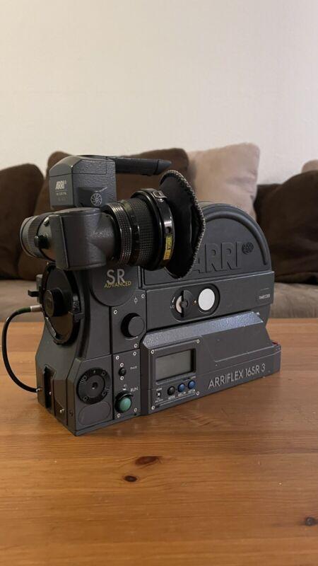 Arriflex Sr3 Advanced Super 16 Camera Package Clean