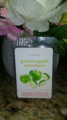 Green Apple Candle (Green Apple Ranchers Wax Melts By: Crumble Candle)