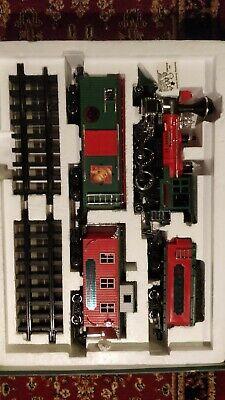 1993 Greatland Holiday Express Train Set w/original Box - Christmas