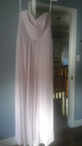 Womens Strapless Gown