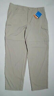 877256b3cf4a5 NWT Women's Columbia Sportswear Aruba II PFG Convertible Pants/Shorts Size  Large