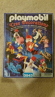 PLAYMOBIL Christmas Tree Decorations Ornaments Box Set 3943: New in box sealed