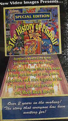 FLIPPER PINBALL History auf DVD Klassiker STERN GOTTLIEB BALLY WILLIAMS CPU