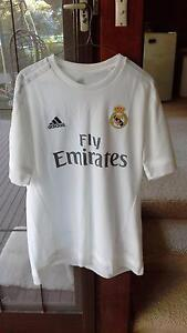 Brand New Real Madrid Home Jersey SIZE L, adidas Wahroonga Ku-ring-gai Area Preview
