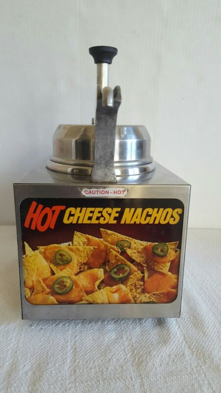 Server Dispenser Nacho Cheese, Hot Fudge, Butter Food Service Good Condition