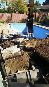 Excavator hire tipper hire concrete removal soil removal rock breaker Mount Kuring-gai Hornsby Area Preview